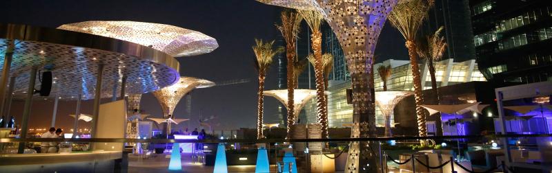 Rosewood Abu Dhabi - Glo restaurant